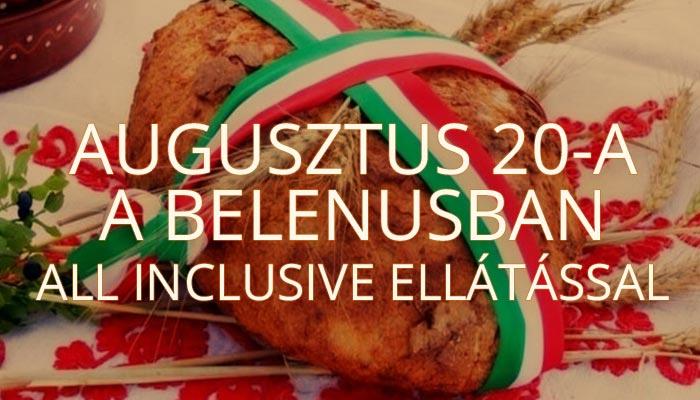 Augusztus 20-a a Belenusban