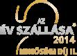 az év szállása 2014. minőségi díj 2. helyezés